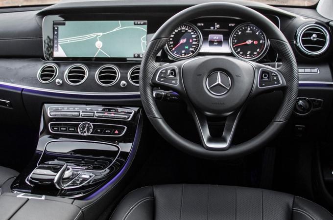 Mercedes E220 Interior
